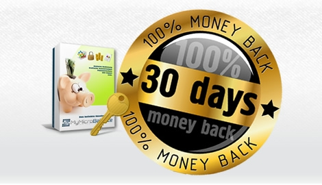 we know you will like it - 30 days money back guarantee on MyMicroBalance VIP license keys